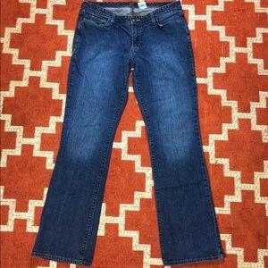 Eddie Bauer 14L bootcut curvy fit jeans